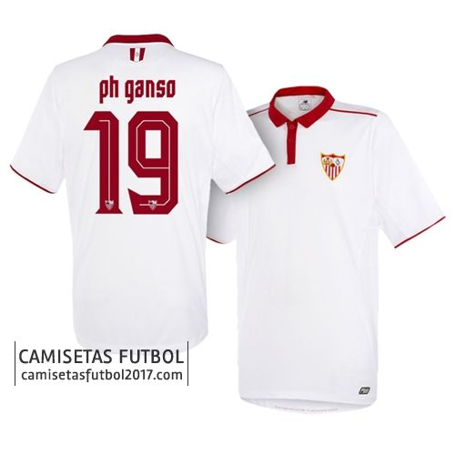 Primera camiseta PH GANSO del Sevilla FC 2016 2017 Camiseta Sevilla FC 2018   Equipacion Sevilla FC 2018