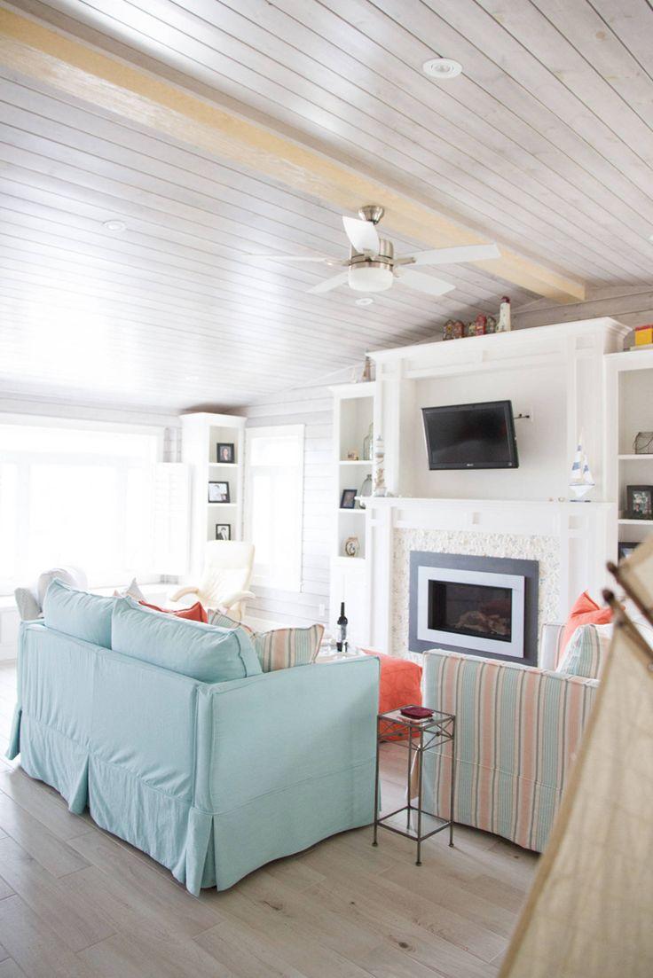 Lovely Best Tv For Family Room Part - 6: Beach House Family Room