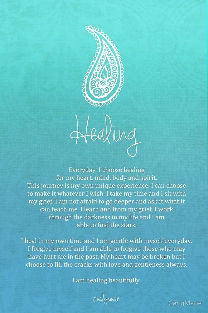 Affirmation ~ Healing by CarlyMarie