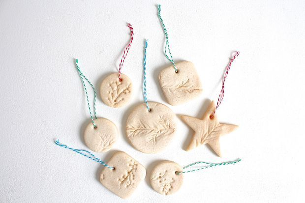 Picture of how to make salt dough ornaments // http://www.instructables.com/id/how-to-make-salt-dough-ornaments/