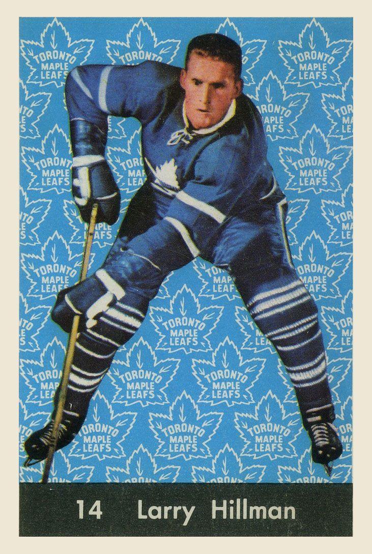 Larry Hillman  1961-62  Parkhurst Hockey Card