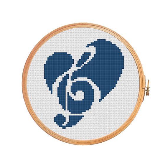 Best 25 Treble Clef Heart Ideas On Pinterest Music