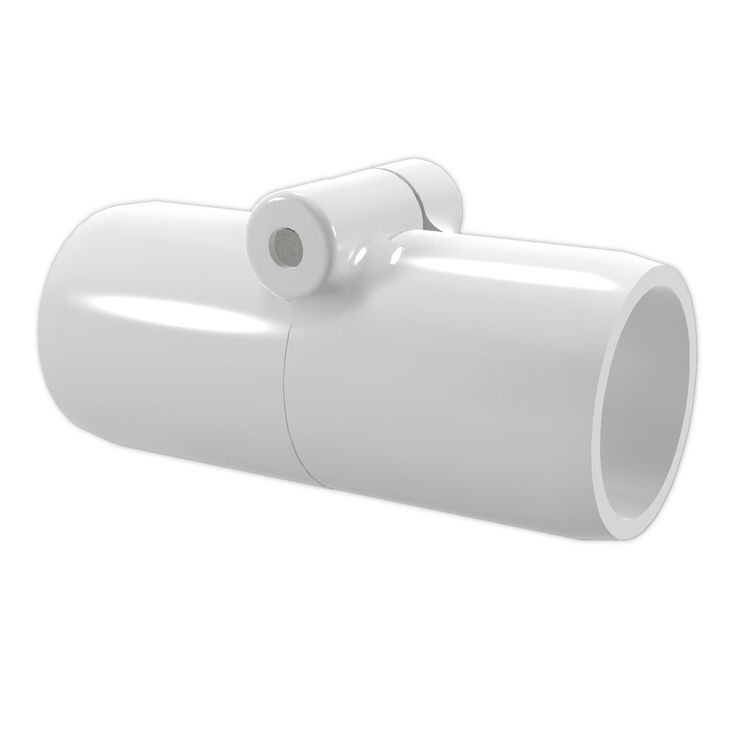 "3/4"" Inline Folding PVC Coupling - Furniture Grade"