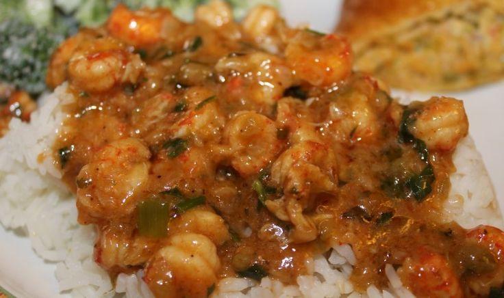 Crawfish Sausage Etouffee (Etoufee) | RealCajunRecipes.com: The #1 Cajun recipe website in the world.
