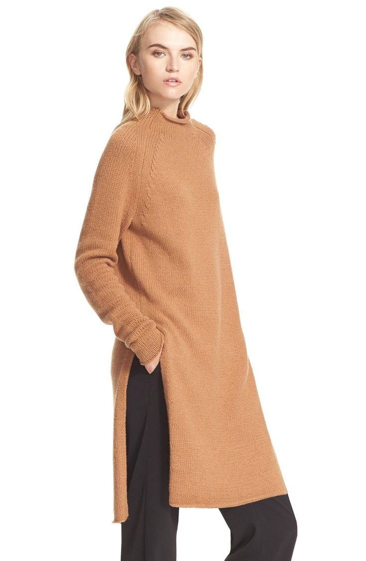 Free shipping and returns on Brochu Walker 'Echo' Tunic Sweater at Nordstrom.com. A touch of cashmere lends a supersoft feel to a cozy, raglan-sleeve tunic eased by deep, hip-high side slits. Like many of Brochu Walker's designs, this effortlessly chic piece is perfect for traveling or transitioning seasons.