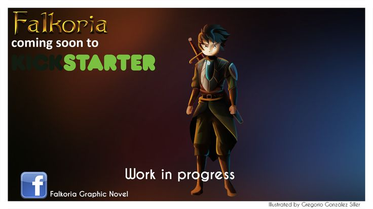 Elion, main character on Falkoria Graphic Novel. For more updates Follow us on Facebook