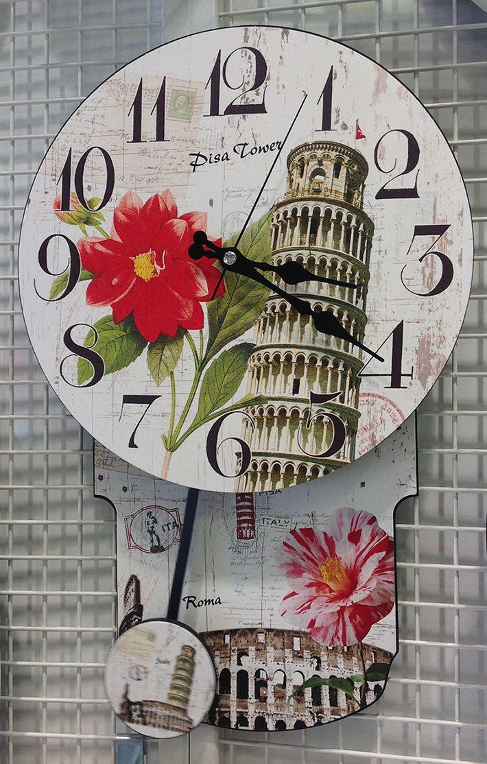 Ahşap Yeni Model Sallanan Duvar Saati  Ürün Bilgisi ;  Ürün maddesi : Ahşap Ebat : 30 cm x 46 cm Sessiz çalışır Mekanizması 5 yıl garantili Tek kalem pil ile çalışmakta