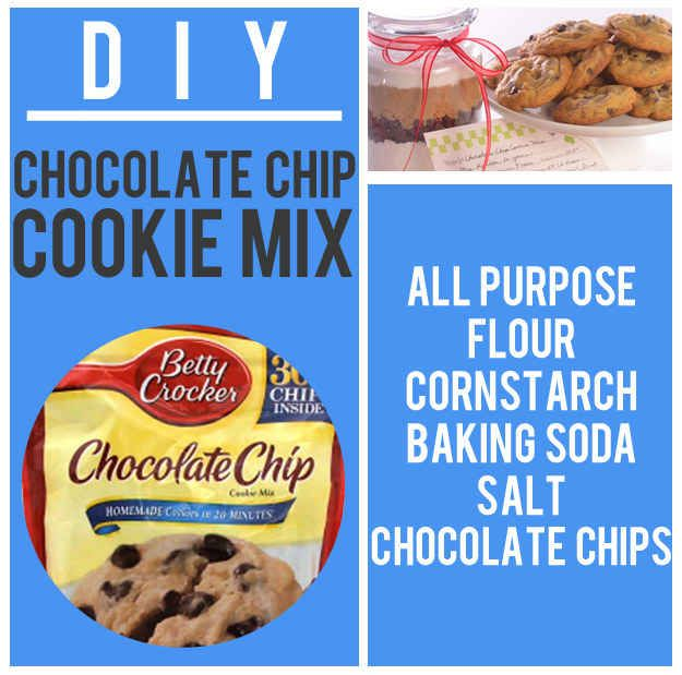 Chocolate Chip Cookie Mix | 15 Boxed Food Mixes You'll Never Have To Buy Again