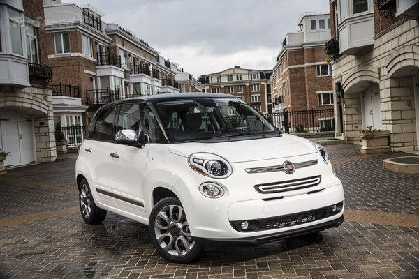 My brand new 2014 Fiat 500L. I am in love!