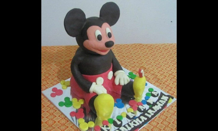 Kue ulang tahun Mickey Mouse. Order via SMS 0856-1303 262, email to mandachioeshop@gmail.com