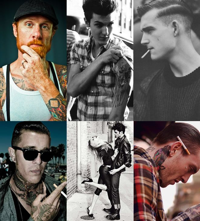 Can I get one of these for my birthday? Tattooed men make the most adorable dads.