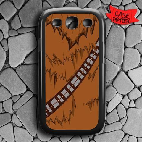 Brown Body Chewbacca Star Wars Samsung Galaxy S3 Black Case