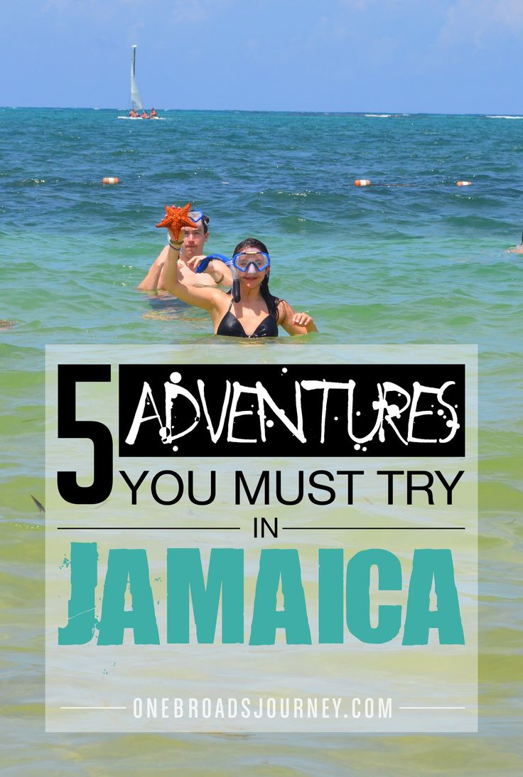 5 Adventures You Must Try in Jamaica!