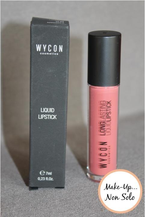 Liquid Lipstick di Wycon #wycon #lipstick #makeup