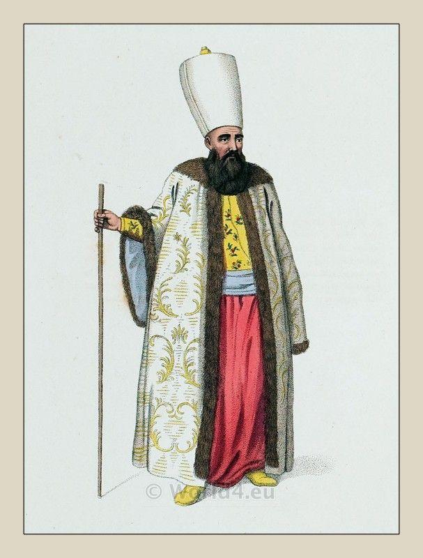 Ottoman Empire Costumes. Capidji Bachi