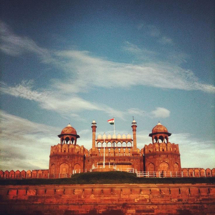 Red Fort. Old Delhi.
