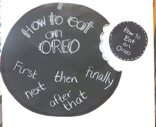 Introducing How-to Writing: O-R-E-O. OMG! We will be doing this next week. Also in this post is a link to some freebie how-to writing papers.