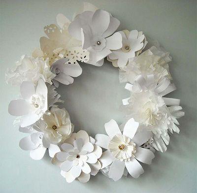 Couronne de fleur en papier!