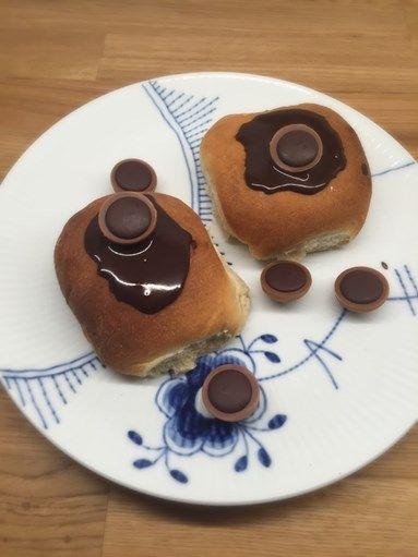 Fastelavnsboller med karamel creme