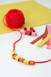 Easy bead activities to teach patterns or just for fun