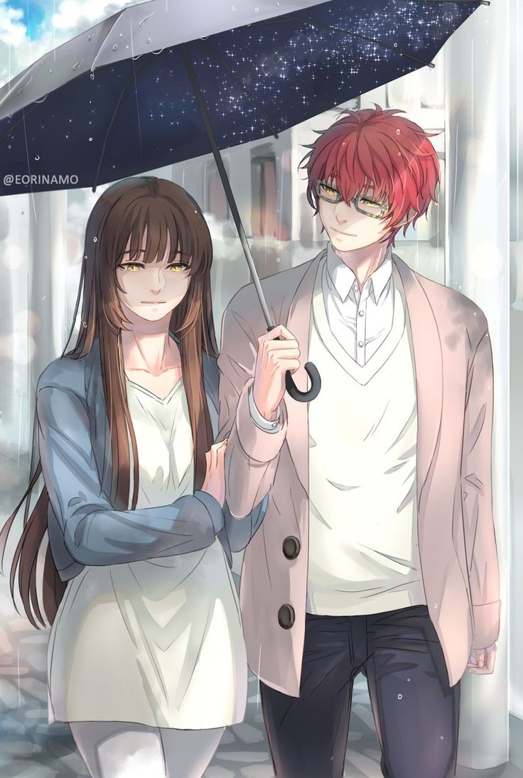 MC's so pretty here I love her with 707 the most ❤️