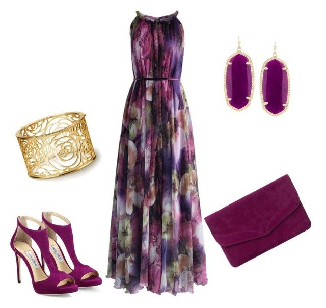 100 by c-lacola on Polyvore featuring polyvore fashion style Chicwish Jimmy Choo Phase Eight Kendra Scott clothing
