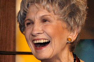 """Alice Munro wins Nobel Prize - Canadian writer Alice Munro says she hopes her Nobel win """"would make people see the short story as an important art."""""""