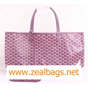 Replica Goyard St Louis Tote GM 2376 Purple