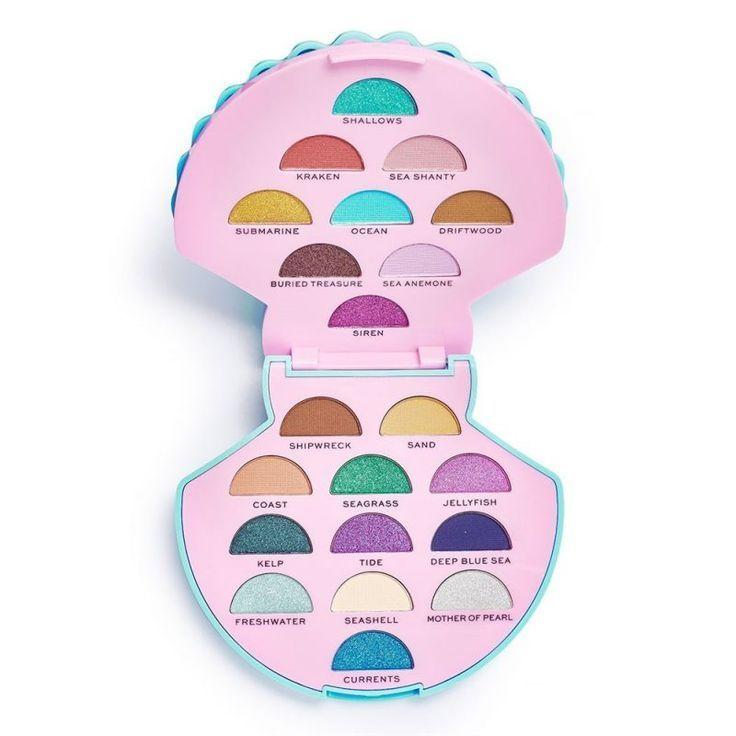 Make-up Revolution I Herz Revolution Ocean Schatz Lidschatten-Palette | #Ma …   – Beauty Tips