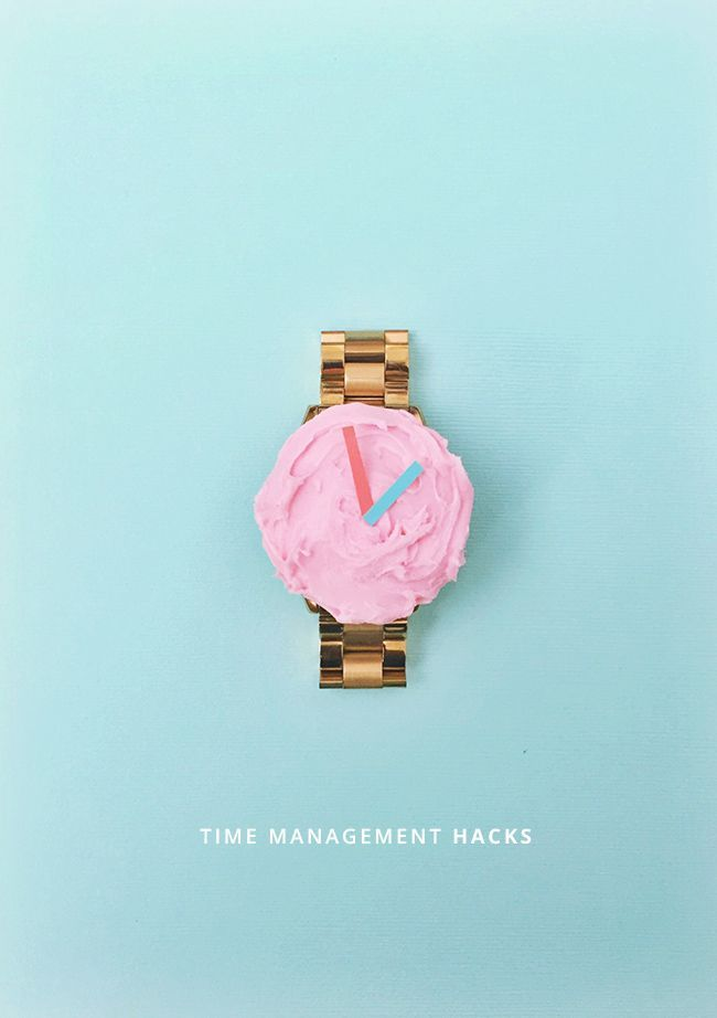 Time to take control over my life with these time management hacks.