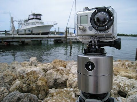 Build cheap panning camera mounts for time lapse photography