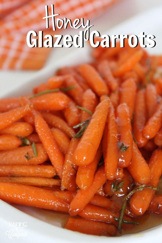 Honey Glazed Carrots (Thanksgiving Side Recipe)