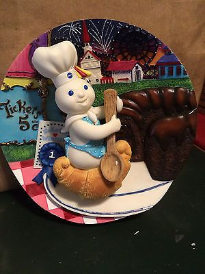 your pillsbury doughboy 3 d plate danbury mint poppin fresh barbecups ...