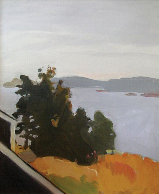 """Maine was special to Porter, and he would return every year to paint. """"It is my home more than any other place,"""" he said, """"and I belong there.""""  Fairfield Porter"""
