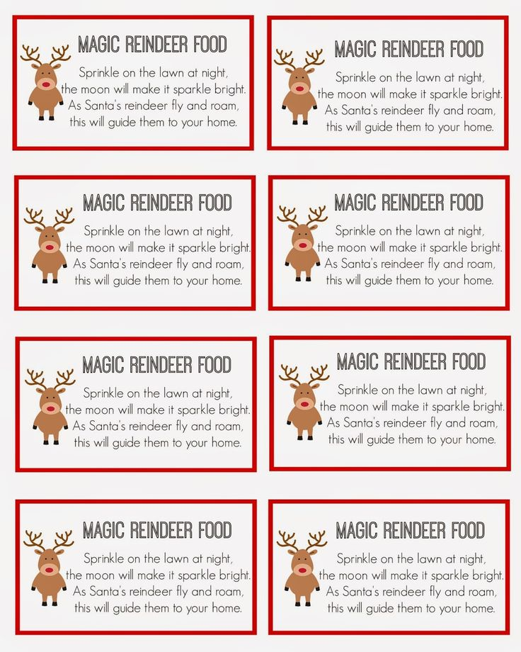 East Coast Mommy: Magic Reindeer Food