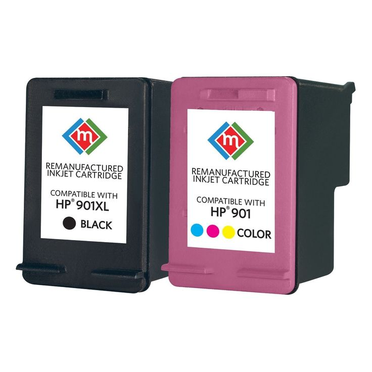 Member's Mark Remanufactured Ink Cartridge 2-Pack Combo, Black & Color