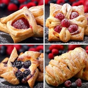Puff Pastry Four Ways  FULL RECIPE: