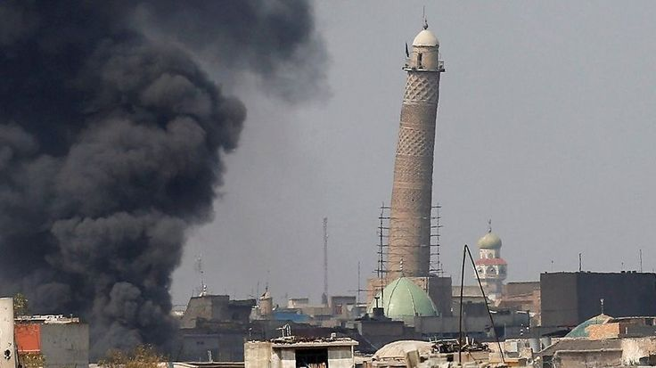 Blast in Iraq destroys Great Mosque of al-Nuri according to Iraqi forces  Source link... - #AlNuri, #Blast, #Destroys, #Great, #Iraq, #Mosque, #World_News