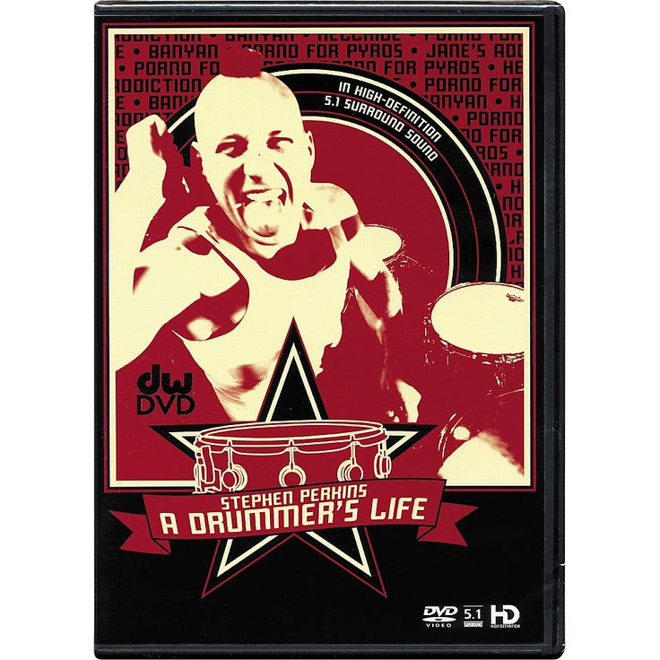 The Drum Channel Stephen Perkins: A Drummer's Life DVD