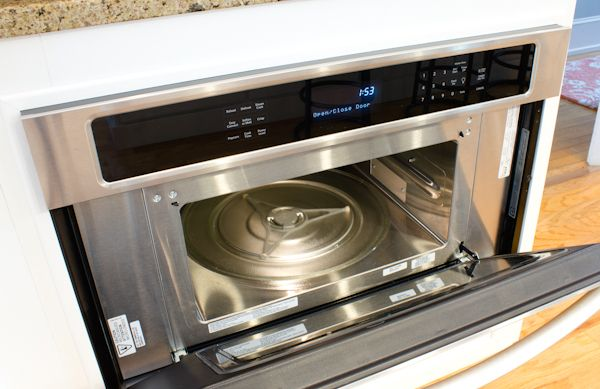 Kitchenaid 30 inch 900 watt convection built in for Built in microwave ovens 30 inch