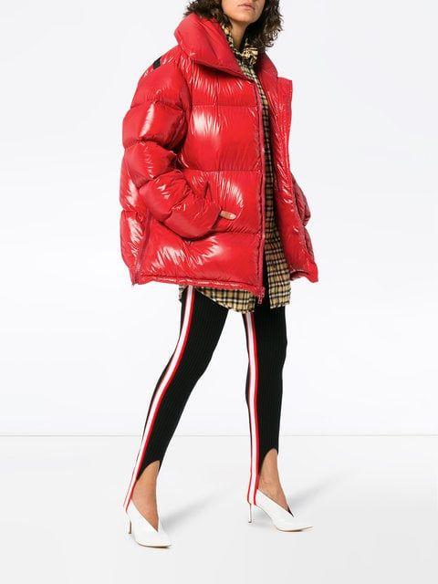 2887db2affa Shop Calvin Klein 205W39nyc super oversized puffer jacket | Bts ...