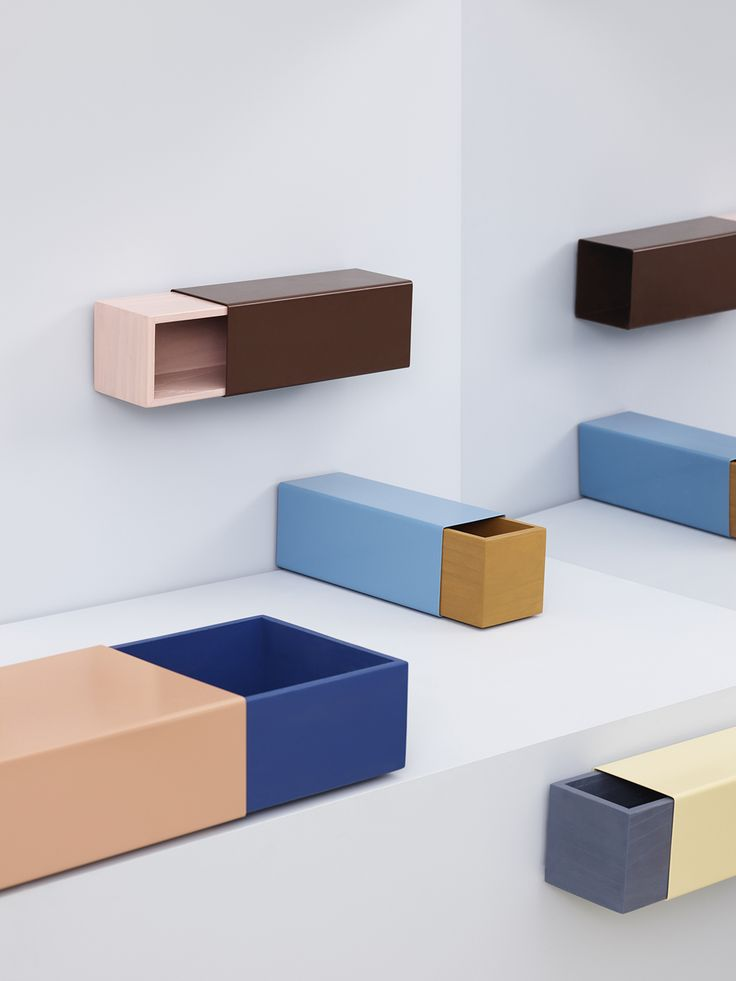 Matchbox-inspired storage units by Sara Polmar — Everything Is Connected