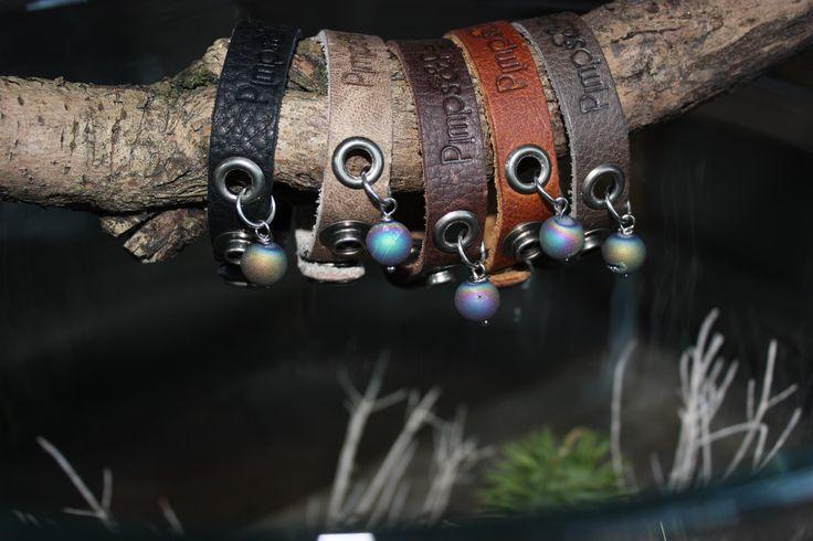 Armbanden van Pimps & Pearls voor kleine ruige mannen en stoere meiden, ideaal Kerstgeschenk!