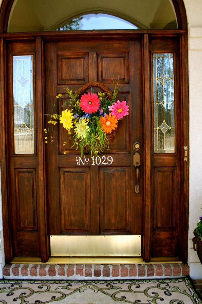 Inspired by Charm: door decor party finalist