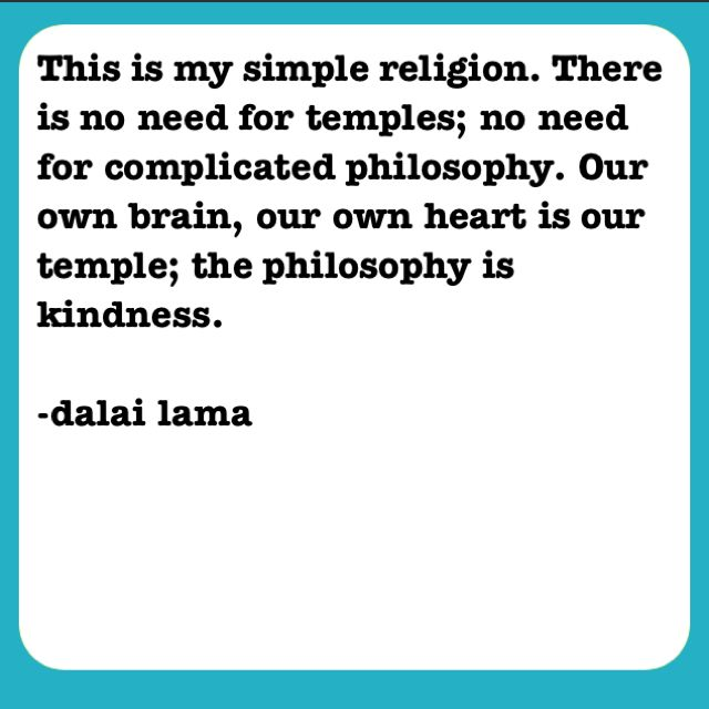 religion - I'm not really buddhist, especially of the Tibetan variety, but this description suits me well.