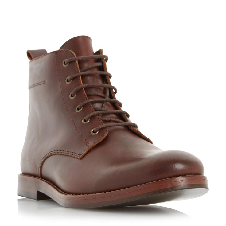 DUNE MENS CAMBELL - Leather Lace Up Boot - brown | Dune Shoes Online