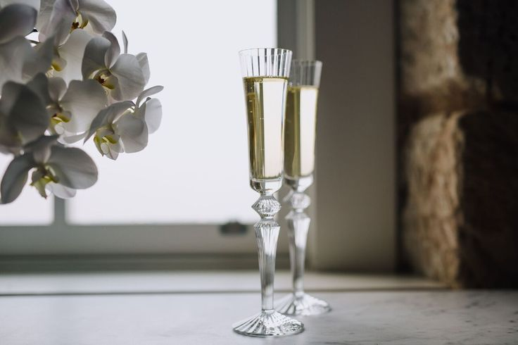 Baccarat Mille Nuits Champagne Flutes