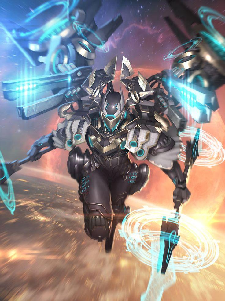 Armadura Hyperion, futuro projeto da TecWorld