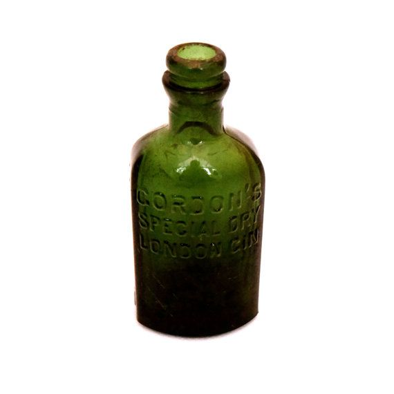 Vintage Gordons Special Dry London Gin Bottle by TwoTimeVintage