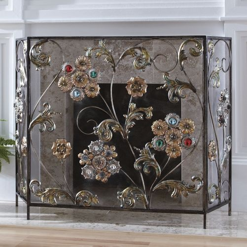 17 Best images about fireplace screens on Pinterest | How ...